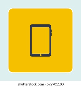 Phone icon isolated sign symbol. Flat Vector illustration. Can be used for mobile and web design