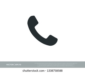Phone Icon Symbol Vector Illustration
