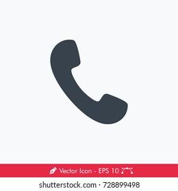 Phone Icon / Vector