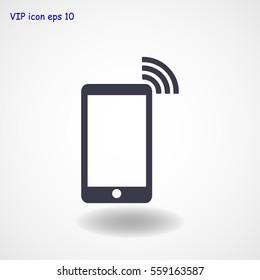 phone icon, vector best flat icon, EPS