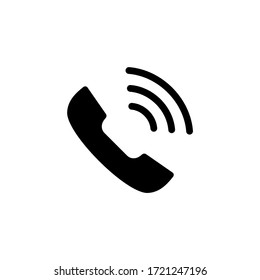 Phone icon vector. Call and telephone icon vector illustration