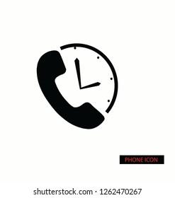 phone icon vector design