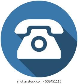 Phone Icon Vector flat design style