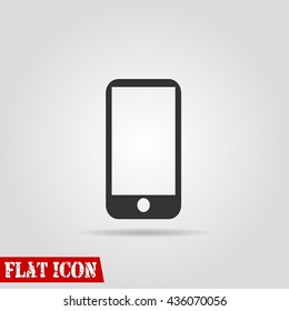 phone icon vector flat sign