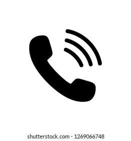 phone icon vector. telephone symbol illustration