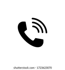 Phone icon vector. Telephone icon symbol isolated. Call icon