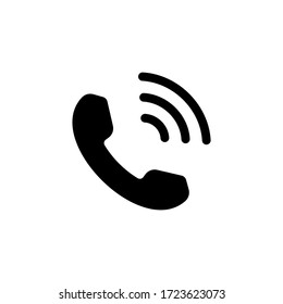 Phone icon vector. Telephone icon symbol isolated. Call icon