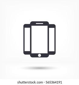 phone icon,vector illustration