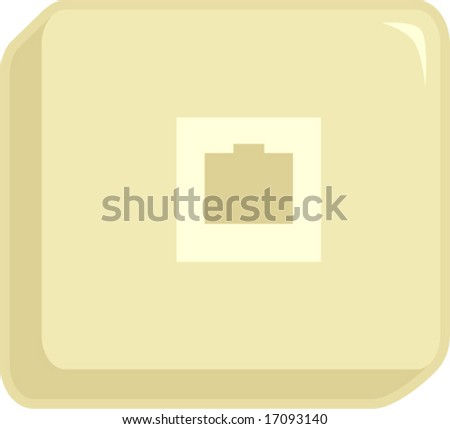 Phone Jack Box Stock Vector Royalty Free 17093140 Shutterstock