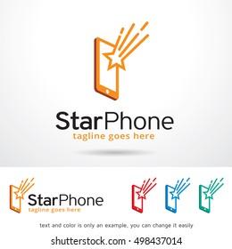 Phone Logo Template Design Vector