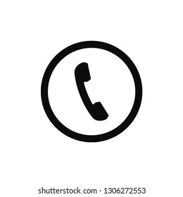 Phone rounded circle