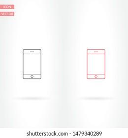 Phone Vector icon . Lorem Ipsum Illustration design