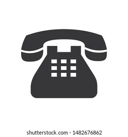 Phone vector icon in modern design style for web site and mobile app