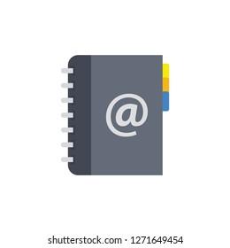 Phonebook Directory Vector Icon