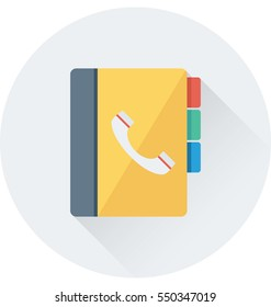 Phonebook Vector Icon