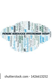 Phonemic Neurological Hypochromium Therapy word cloud. Wordcloud made with text only.