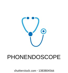 Phonendoscope icon. Phonendoscope symbol design. Stock - Vector illustration can be used for web