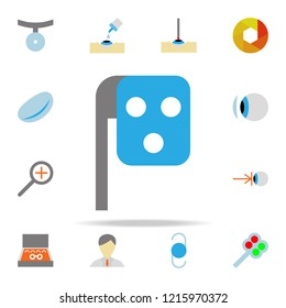 phoropter illustration icon. optometry icons universal set for web and mobile