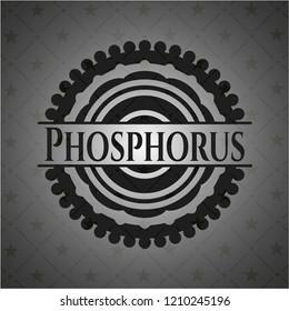 Phosphorus dark icon or emblem