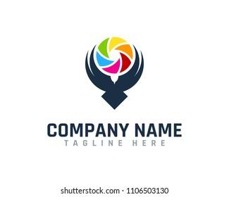 Photo Bird Logo Design