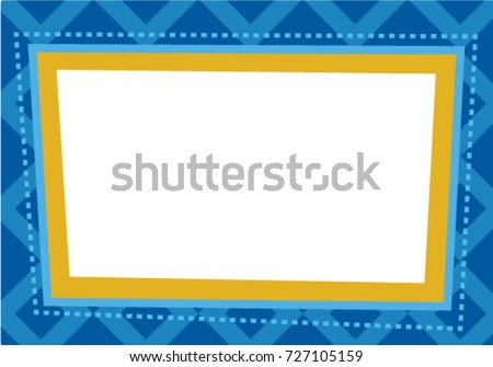 Photo Booth Business Frame Vector Template Stock Vector (Royalty ...