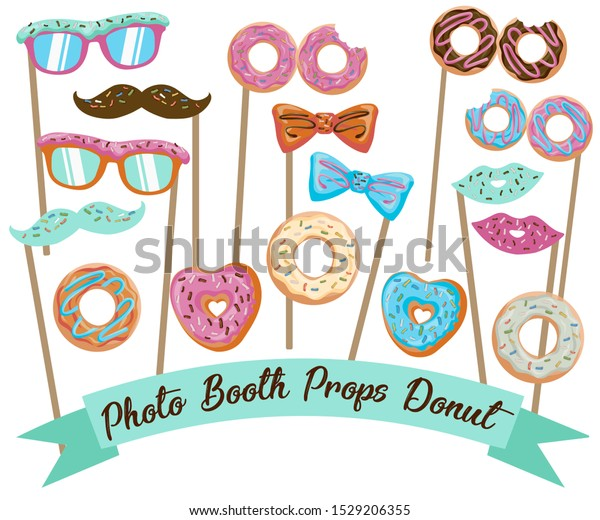 It is an image of Printable Photo Props with birthday