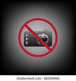 photo camera. icon. vector design