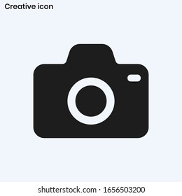 フォトカメラのアイコンベクター画像EPS10