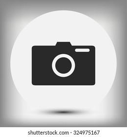 photo camera vectoe icon
