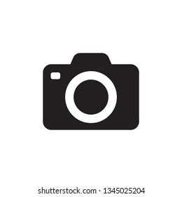 Photo camera vector icon