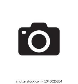 フォトカメラのベクター画像アイコン
