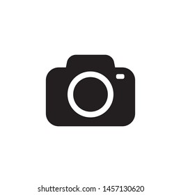 Photo camera vector icon illustration