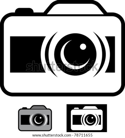 Photo camera - Vector illustration