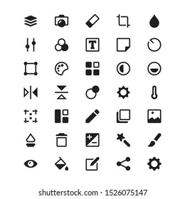 Photo Editor Icon Pack for mobile app and other