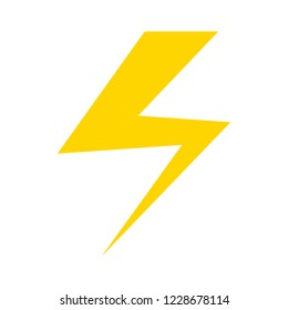 Photo flash sign icon. flash Lightning