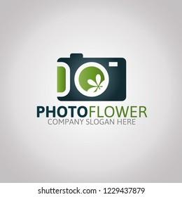 Photo Flover Logo Template