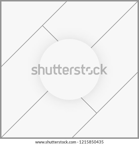 photo frame collage template picture blank stock vector royalty
