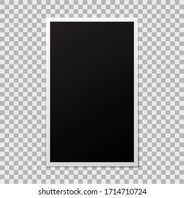 Photo frame mockup portrait mode
