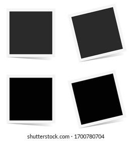 photo frame set art illustration