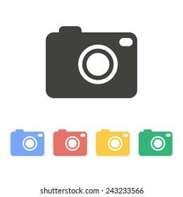 Photo icon. Vector.