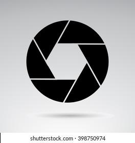 Photo shutter illustration. Vector illustration.