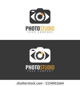 Photo Studio Logo design.