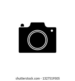photocamera icon. Signs and symbols can be used for web, logo, mobile app, UI, UX
