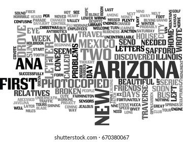 A PHOTOCOPIED TRAVEL LETTER TO HOME TEXT WORD CLOUD CONCEPT