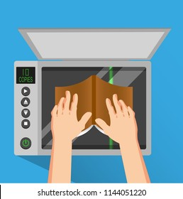 photocopier, scanner, copy, technique, office, printing, documents