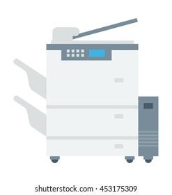 Photocopier Vector Icon