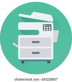 Photocopier Vector Icon