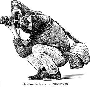 photographer behind work