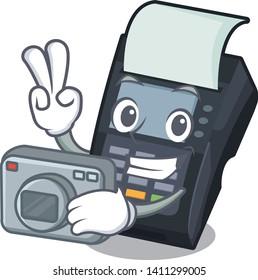 Photographer EDC machine in the cartoon shape