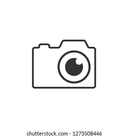 Photography camera graphic icon design template illustration